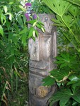 Hidden Moai in the garden