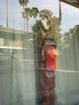 A large and special Tiki outside the Outrigger meeting room. At night, he GLOWS- simiar to those at Hala Kahiki near Chicago.