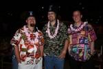 Plenty o' aloha shirts!