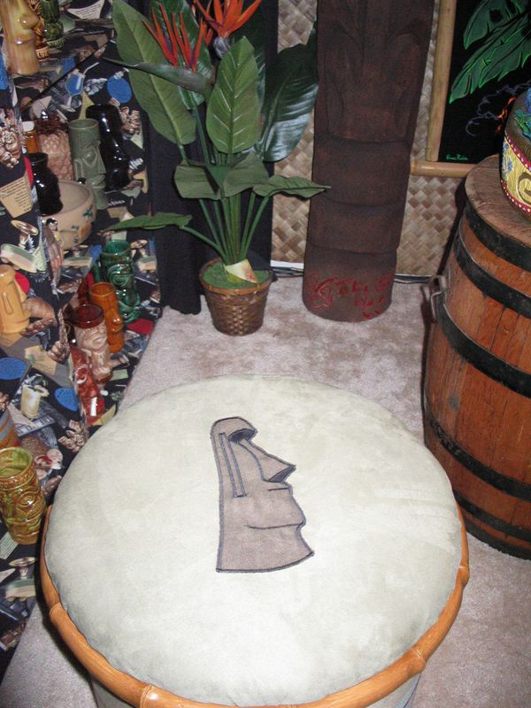 One of Monkeyman's fabulous ottomans- not a very good picture, though, and our other one didn't turn out- too dark :(