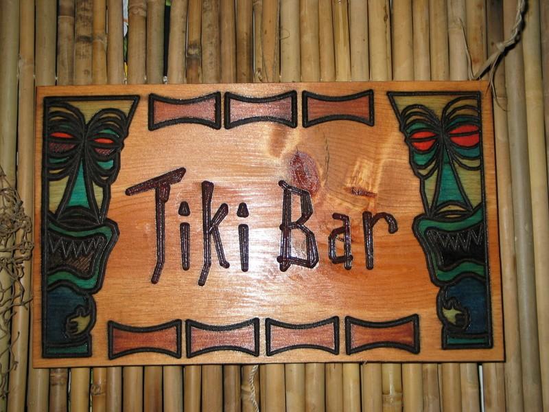 A nice Tikizone wooden plaque. http://www.tikizone.com/