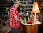 Will concocts using homemade precious elixirs! Two bartenders, one bar- execellent!