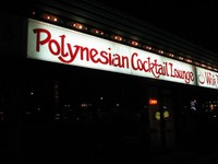 Highlight for Album: Coast to Coast Int'l Tiki Trek- Polynesian Cocktail Lounge and Wok House, Winnipeg, CAN