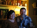 Picture taken AFTER the prototype Rongorongo Rickey- hence blurry shaky and happy!