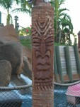 I have many pictures of the Tikis along the courses, I didn't note which went with which hole, but these are in roughly chronological order.