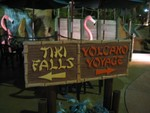 Tiki falls first, then Volcano Voyage.