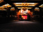 "And an exceptionally blurry interior shot of ""Captain Cook's""."
