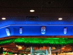 Masks along the top of the bar.